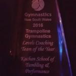 2016 levels award